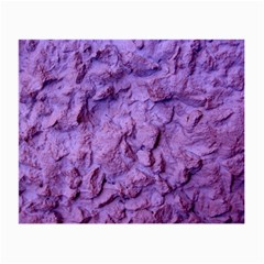 Purple Wall Background Small Glasses Cloth by Costasonlineshop