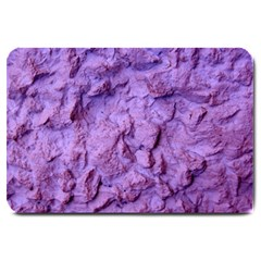 Purple Wall Background Large Doormat  by Costasonlineshop