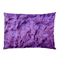 Purple Wall Background Pillow Cases (two Sides) by Costasonlineshop