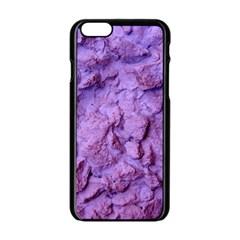 Purple Wall Background Apple Iphone 6/6s Black Enamel Case by Costasonlineshop