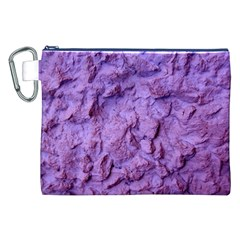 Purple Wall Background Canvas Cosmetic Bag (xxl)  by Costasonlineshop