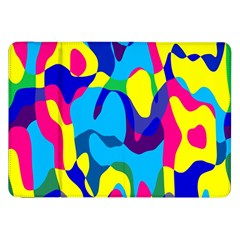 Colorful Chaos			samsung Galaxy Tab 8 9  P7300 Flip Case by LalyLauraFLM
