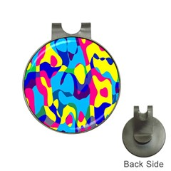 Colorful Chaosgolf Ball Marker Hat Clip by LalyLauraFLM
