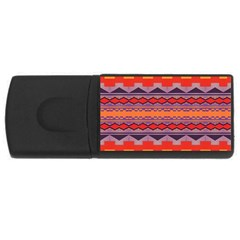 Rhombus rectangles and trianglesUSB Flash Drive Rectangular (2 GB) by LalyLauraFLM