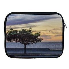 Sunset Scene At Boardwalk In Montevideo Uruguay Apple Ipad 2/3/4 Zipper Cases by dflcprints