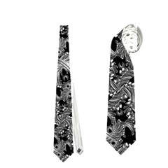Luxury Patterned Modern Baroque Neckties (two Side)  by dflcprints