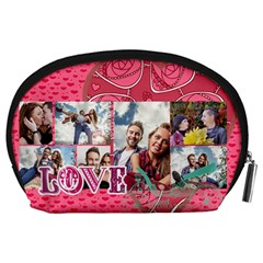 Love By Love   Accessory Pouch (large)   Wm24o4spwot6   Www Artscow Com Back