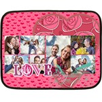 love - Fleece Blanket (Mini)