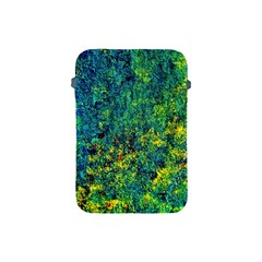 Flowers Abstract Yellow Green Apple Ipad Mini Protective Soft Cases by Costasonlineshop