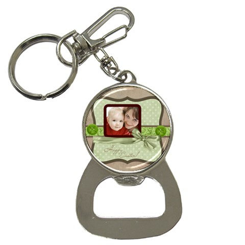 Easter By Joely   Bottle Opener Key Chain   1vxbath24262   Www Artscow Com Front