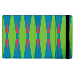 Connected Rhombus			apple Ipad 2 Flip Case by LalyLauraFLM