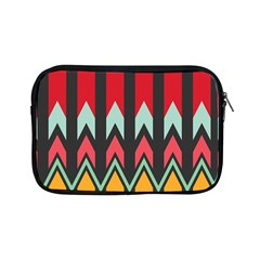 Waves And Other Shapes Patternapple Ipad Mini Zipper Case by LalyLauraFLM