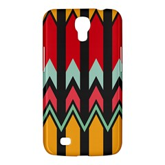 Waves And Other Shapes Pattern			samsung Galaxy Mega 6 3  I9200 Hardshell Case by LalyLauraFLM