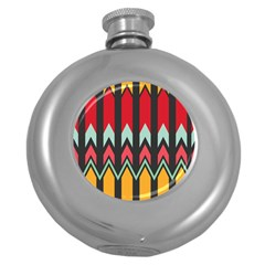 Waves And Other Shapes Patternhip Flask (5 Oz) by LalyLauraFLM