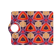 Triangles Honeycombs And Other Shapes Patternkindle Fire Hd (2013) Flip 360 Case by LalyLauraFLM