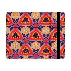 Triangles Honeycombs And Other Shapes Pattern			samsung Galaxy Tab Pro 8 4  Flip Case by LalyLauraFLM