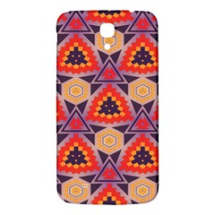 Triangles Honeycombs And Other Shapes Pattern			samsung Galaxy Mega I9200 Hardshell Back Case by LalyLauraFLM