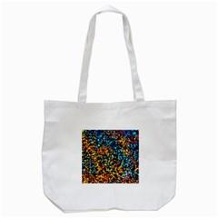 Colorful Seashell Beach Sand, Tote Bag (White)  by Costasonlineshop