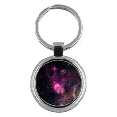 Purple Clouds Key Chains (round)  by trendistuff