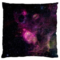 Purple Clouds Standard Flano Cushion Cases (two Sides)  by trendistuff