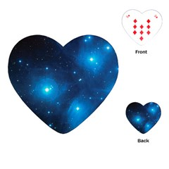 Pleiades Playing Cards (heart)  by trendistuff