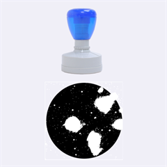 Pleiades Rubber Round Stamps (medium) by trendistuff