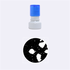 Pleiades Rubber Round Stamps (small) by trendistuff