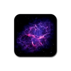 Pia17563 Rubber Square Coaster (4 Pack)  by trendistuff