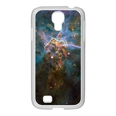 Mystic Mountain Samsung Galaxy S4 I9500/ I9505 Case (white) by trendistuff