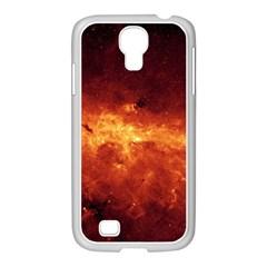 Milky Way Clouds Samsung Galaxy S4 I9500/ I9505 Case (white) by trendistuff