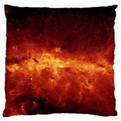 Milky Way Clouds Standard Flano Cushion Cases (two Sides)  by trendistuff