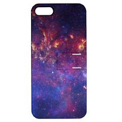 Milky Way Center Apple Iphone 5 Hardshell Case With Stand by trendistuff