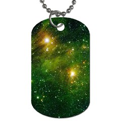 Hydrocarbons In Space Dog Tag (one Side) by trendistuff