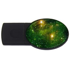 HYDROCARBONS IN SPACE USB Flash Drive Oval (1 GB)  by trendistuff