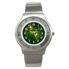 Hydrocarbons In Space Stainless Steel Watches by trendistuff