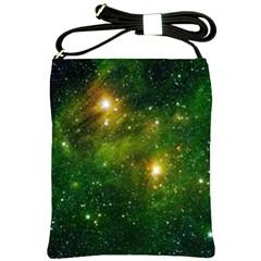 Hydrocarbons In Space Shoulder Sling Bags by trendistuff