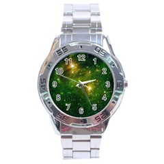 Hydrocarbons In Space Stainless Steel Men s Watch by trendistuff