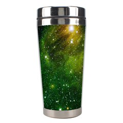 Hydrocarbons In Space Stainless Steel Travel Tumblers by trendistuff