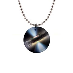 HIDDEN BLACK HOLE Button Necklaces by trendistuff