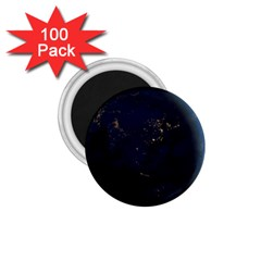 Global Night 1 75  Magnets (100 Pack)  by trendistuff