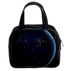Global Night Classic Handbags (2 Sides) by trendistuff