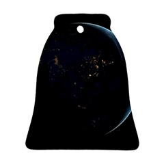 Global Night Bell Ornament (2 Sides) by trendistuff