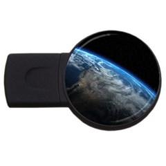 EARTH ORBIT USB Flash Drive Round (1 GB)  by trendistuff