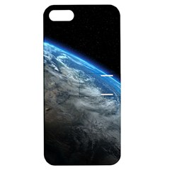 Earth Orbit Apple Iphone 5 Hardshell Case With Stand by trendistuff