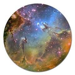 Eagle Nebula Magnet 5  (round) by trendistuff