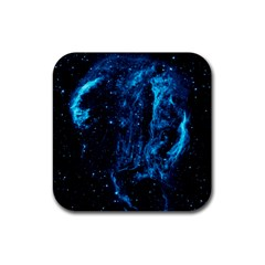 Cygnus Loop Rubber Square Coaster (4 Pack)  by trendistuff