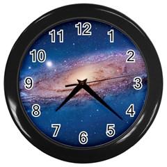 Andromeda Wall Clocks (black) by trendistuff