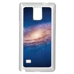 ANDROMEDA Samsung Galaxy Note 4 Case (White) by trendistuff