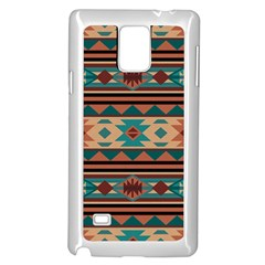 Southwest Design Turquoise And Terracotta Samsung Galaxy Note 4 Case (white) by SouthwestDesigns