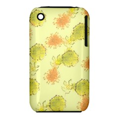 Shabby Floral 1 Apple Iphone 3g/3gs Hardshell Case (pc+silicone) by MoreColorsinLife